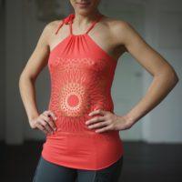Yoga Tank Sita Front - kismet yogastyle