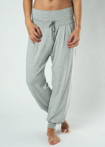 Kismet Yoga Pant Padmini-grey marl-front view