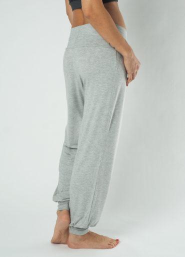 Kismet Yoga Pant Padmini-grey marl-back view