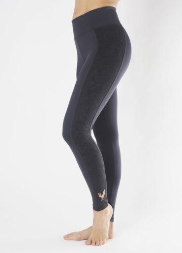 Kismet Shape Leggings Lakshmi anthracite side view