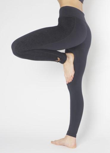 Kismet Yoga Shape Leggings Lakshmi anthracite side view