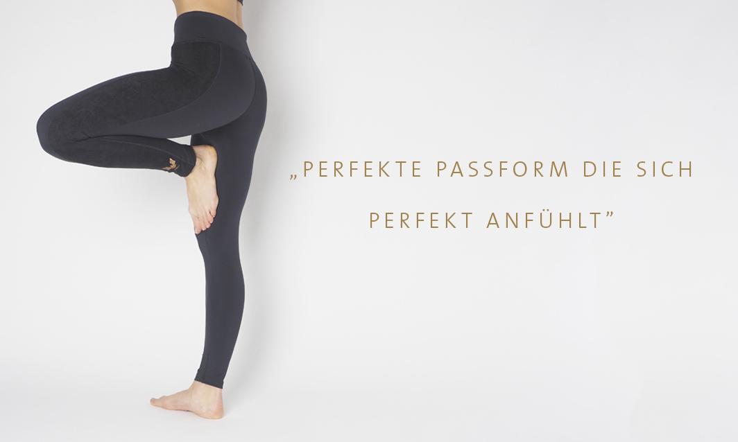 Yogini in Kismet Yogastyle new collection, Yoga Shape Leggings Lakshmi anthracite,Kismet Yogastyle neue Kollektion,best fit,perfekte Kontour