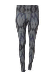 Leggings Devi ikat olive front view