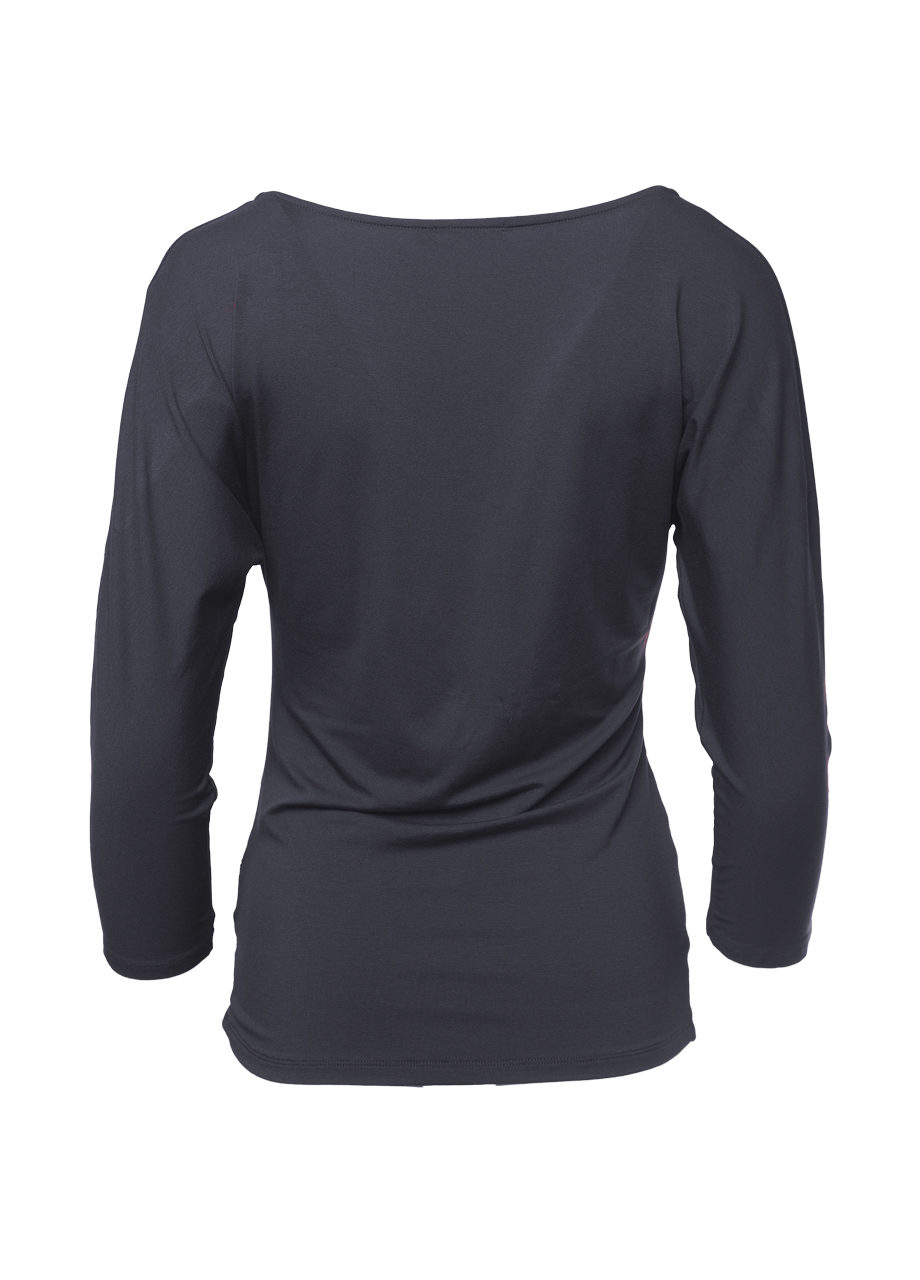 Yoga Indra Top anthracite back