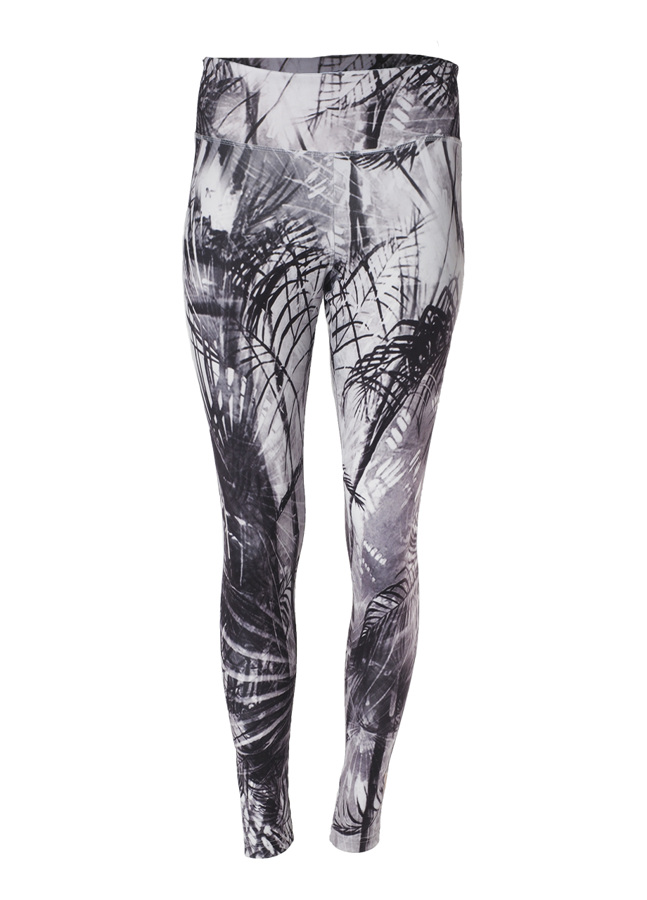 Devi Shape Leggings carebean dawn front view-Kismet Yogastle-Yogaleggings