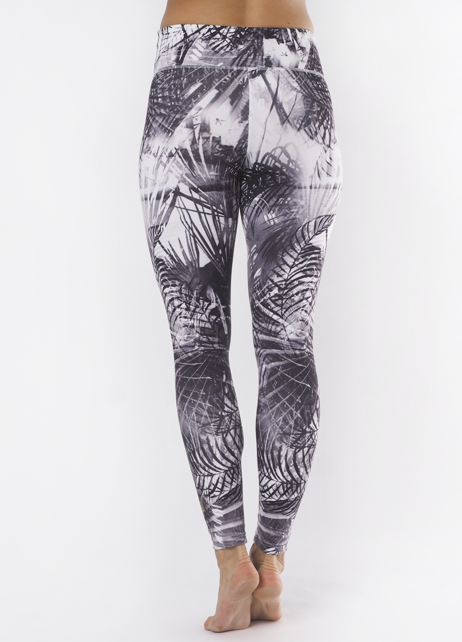 Devi Shape Leggings carebean dawn back view-Kismet Yogastle-Yogaleggings