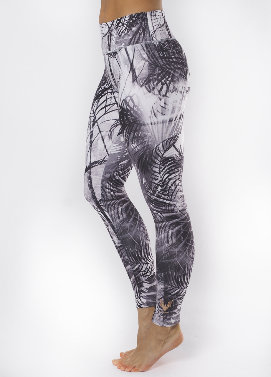 Devi Shape Leggings carebean dawn side view-Kismet Yogastle-Yogaleggings