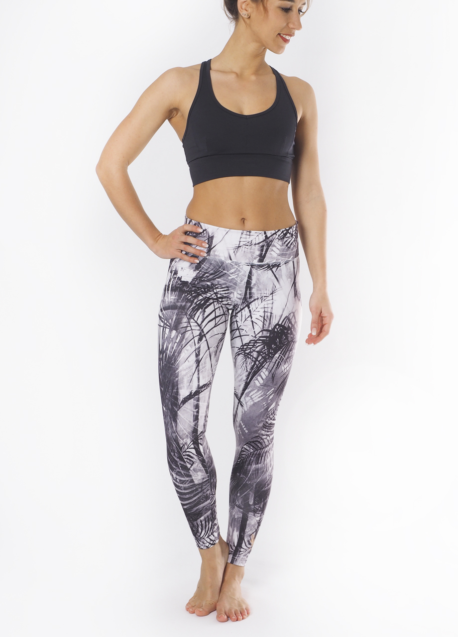 Devi Shape Leggings carebean dawn front view mood-Kismet Yogastle-Yogaleggings