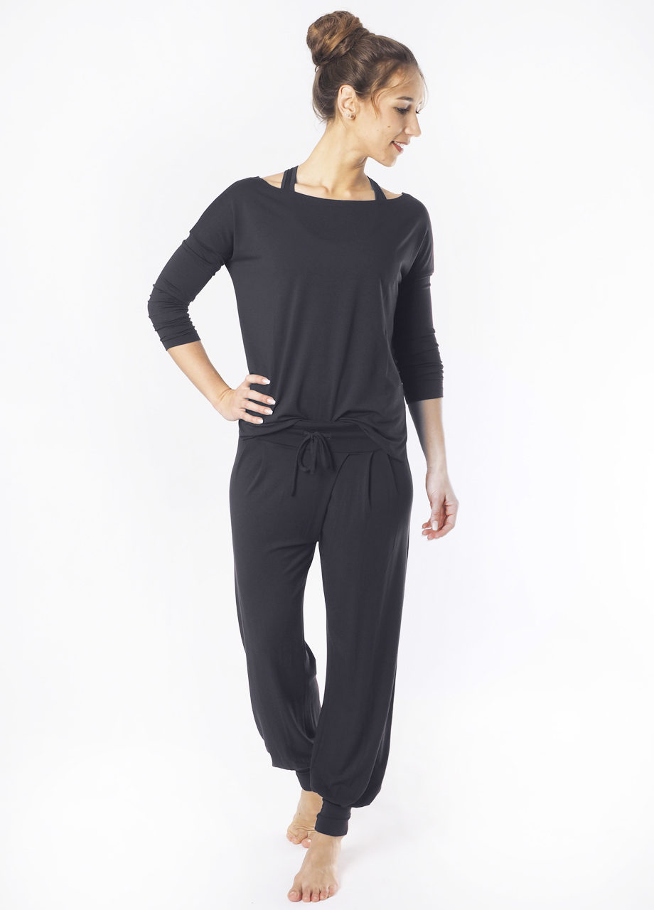 Kismet Aila Longsleeve front look 2 view anthracite