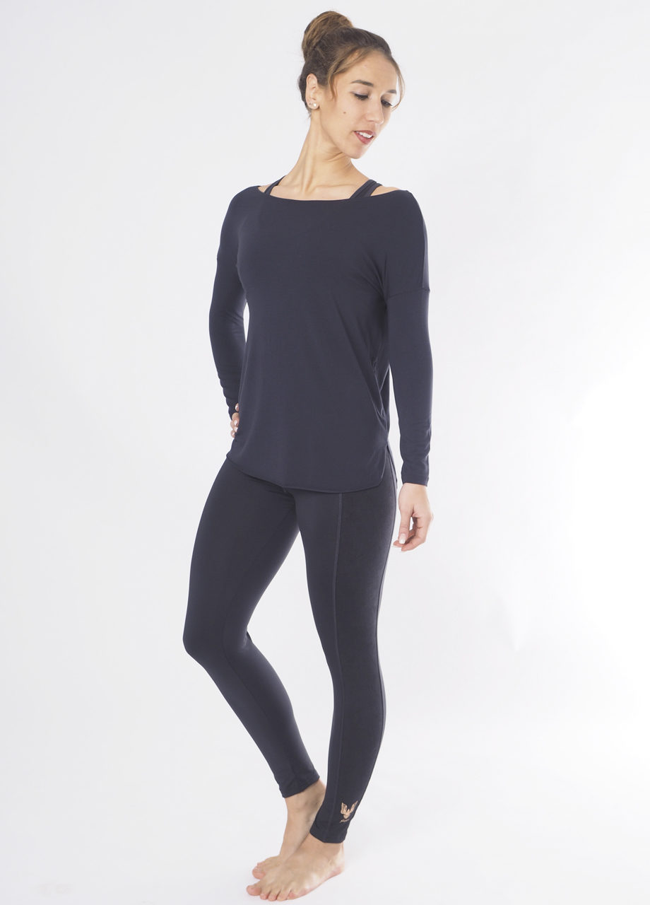 Kismet Aila Longsleeve front look view anthracite
