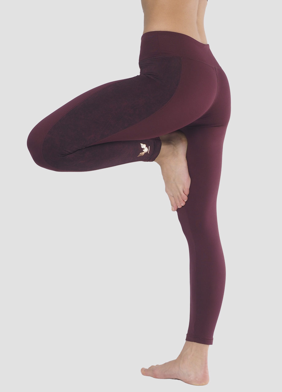 Kismet Yoga Shape Leggings Lakshmi mystic red Baum Position