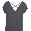 Yoga Tee Parvati - Anthracite back view