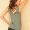 Kismet Yoga Tank Sumati jade_back