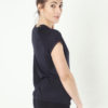 Kismet Yoga Tee Jiva anthracite side