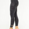 Kismet Ganga Leggings anthracite flower side view