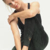 Yoga Leggings Ganga 7/8 - Caribbean Deep Jade mood 1