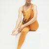 Yoga Leggings Ganga 7/8 - Warrior Desert-Kismet Yogastyle