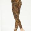 Yoga Leggings Ganga 7/8 - Zebra Desert-Kismet Yogastyle-
