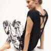 Surya Top anthracite_Kismet Yogastyle_back look
